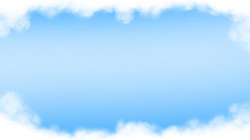 sky cloud blue