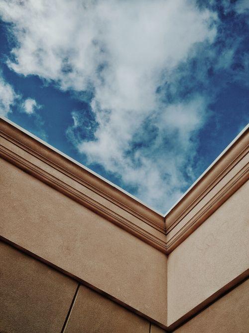 dangus,debesys,be stogo,atviras pastatas,nėra lubų,Debesuota,mėlynas,debesys,mėlynos dangaus debesys,dangaus debesys,gamta,balta,architektūra,statyba