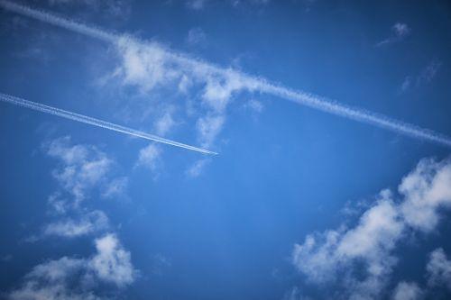 sky aircraft boeing