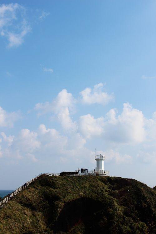 sky lighthouse jeju