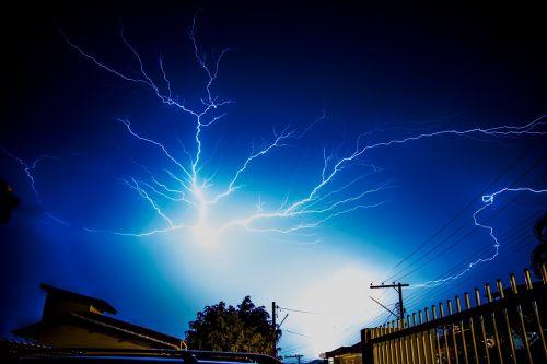sky thunderstorm storm