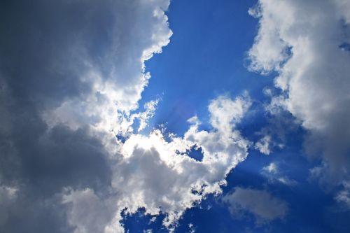 sky blue bright