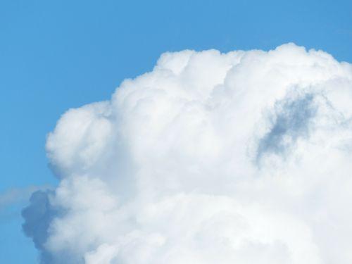 sky clouds cloud towers