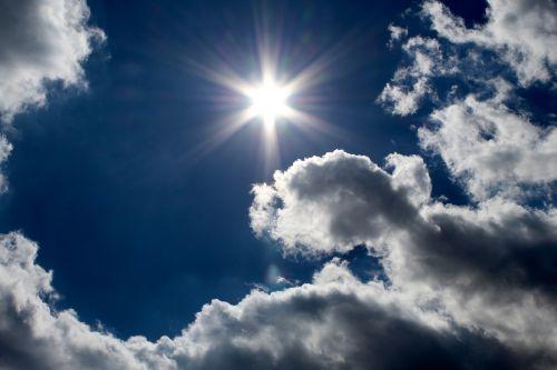 sky sunbeam summer