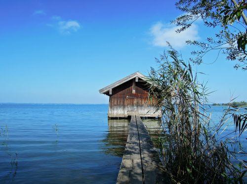 sky lake hut