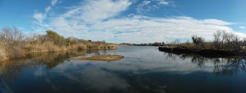 sky blue lake
