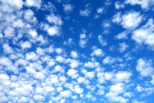 sky clouds schäfchen