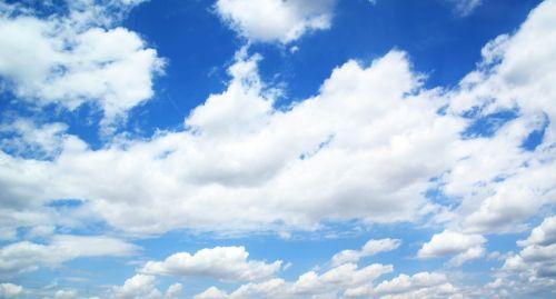 sky clouds blue