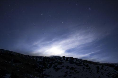 sky star night
