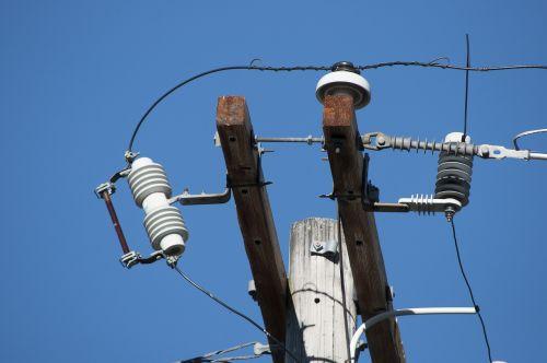 sky power line power lines