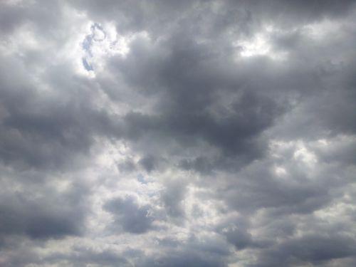 sky clouds lightning cloud