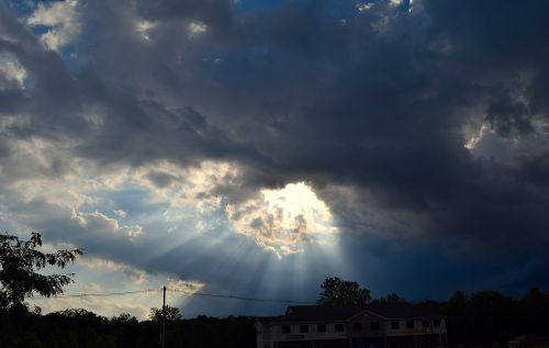 sky sunlight dramatic
