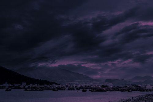sky travel color