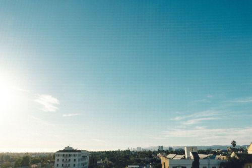 sky skyline sunshine