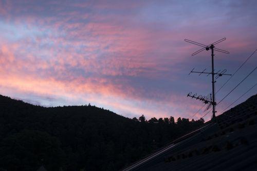 sky antenna roof