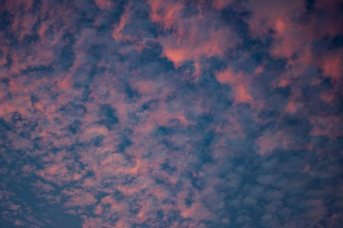sky,clouds,pink,blue,clouds sky,nature,sky clouds,weather,blue sky clouds,light,day,summer,space,cloudscape,color,air,heaven,sunlight,environment,cloudy,blue sky background,landscape,blue sky