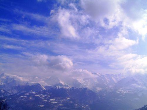 dangus,kalnas,kraštovaizdis,gamta,debesuota dangaus,Debesuota,debesys,pyrénées