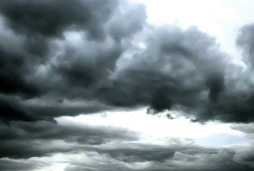 sky clouds storm clouds