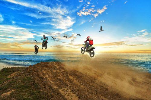 sky motocross sport