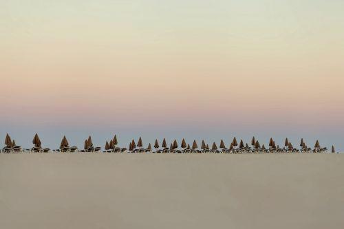sky dawn landscape