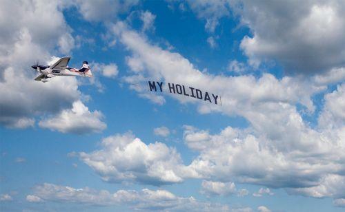 sky the plane flight