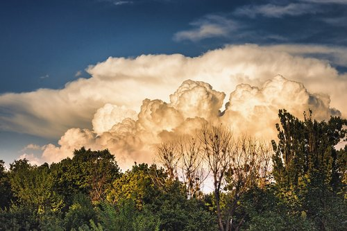 sky  clouds  thunderstorm