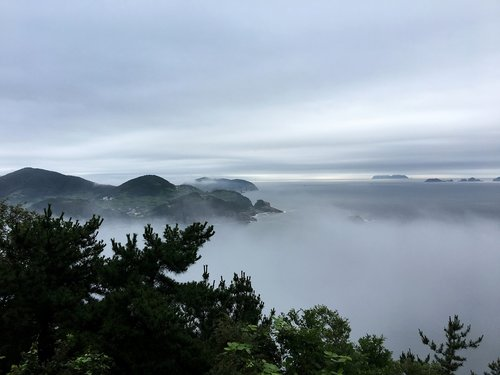 sky  fog  cloud