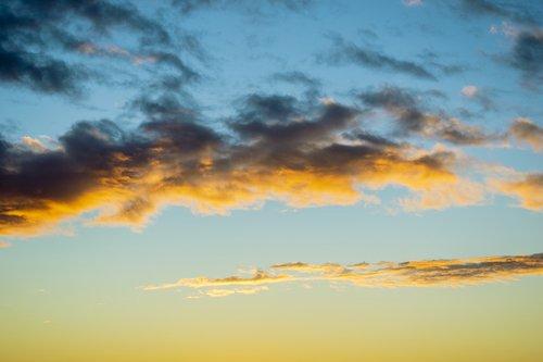 sky  dawn  clouds