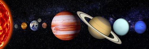 sky  stars  planets
