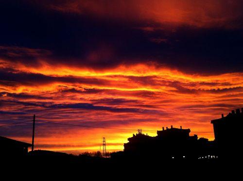 sky dawning sky beautiful sunrise