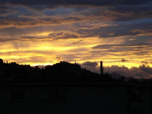 sky dawn sunrise