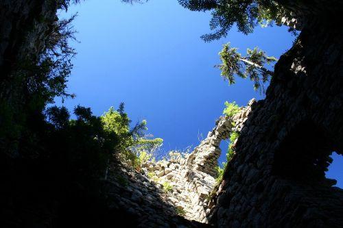 sky castle ruins