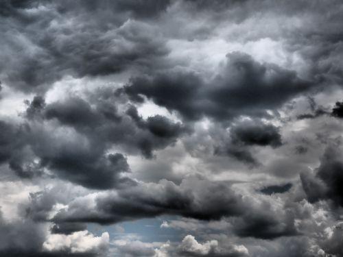 sky clouds gloomy