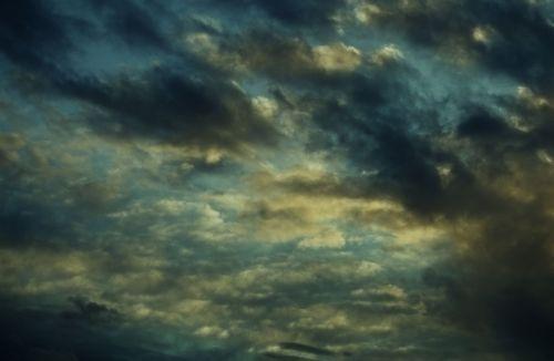 sky clouds drama