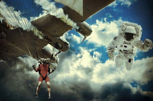 sky landing crash landing