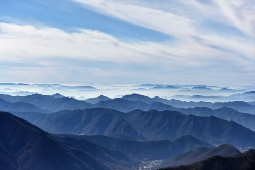 sky and mountains in normal milyang
