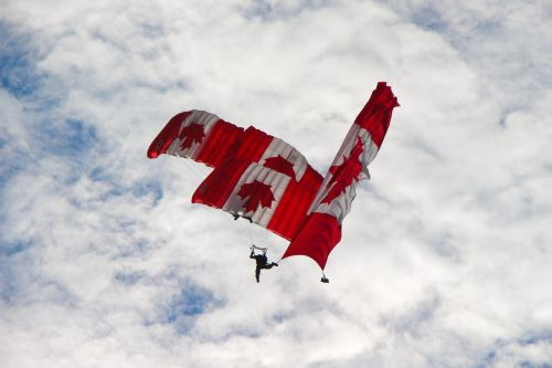 skydivers canadian team
