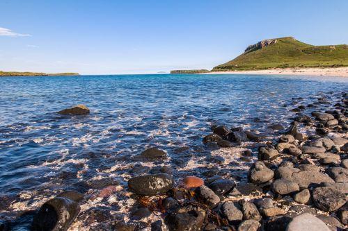 skye coral beach scotland beach