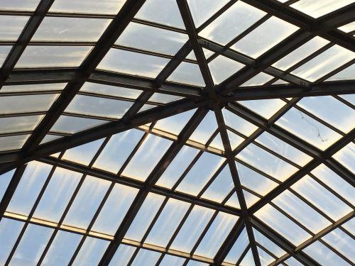 skylight angles glass