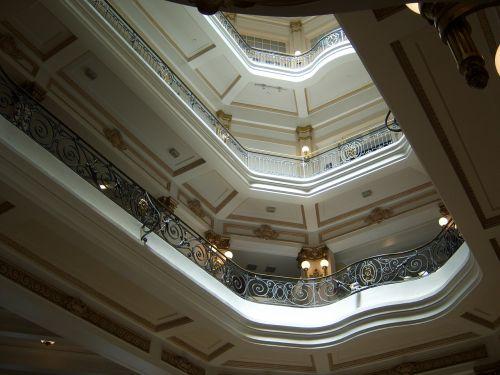 skylight centro cultural banco do brasil mezzanine