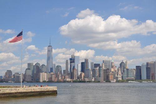 skyline newyork usa