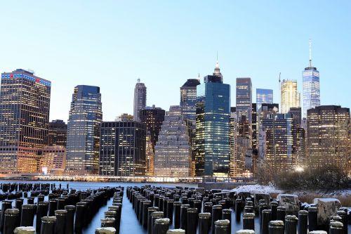 skyline manhattan newyork