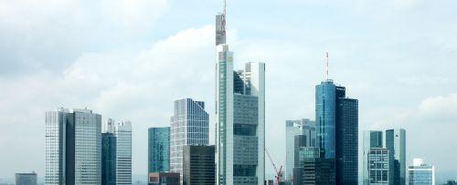 skyline frankfurt skyscrapers