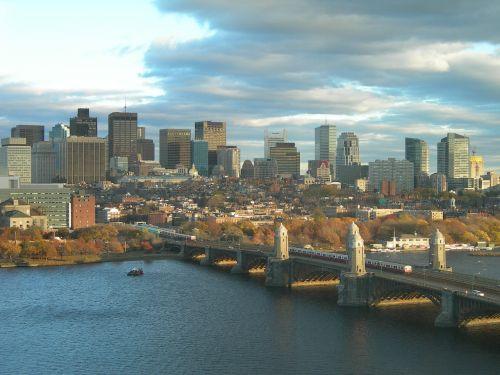 skyline boston city