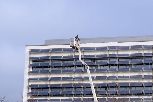 skyscraper repair maintenance