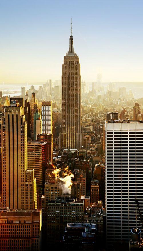 empire state building new york city skyscraper