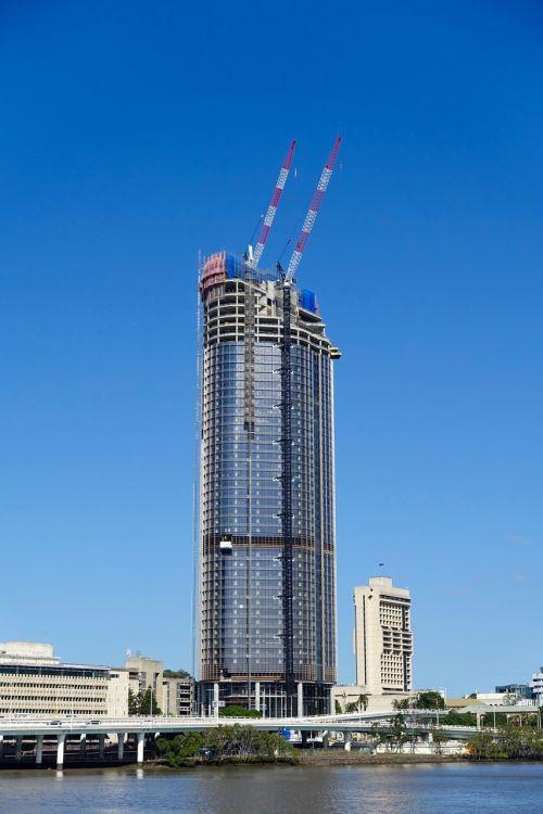 skyscraper building city