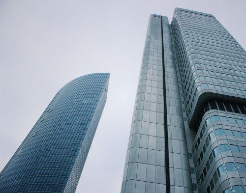 skyscraper corporate modern buildings