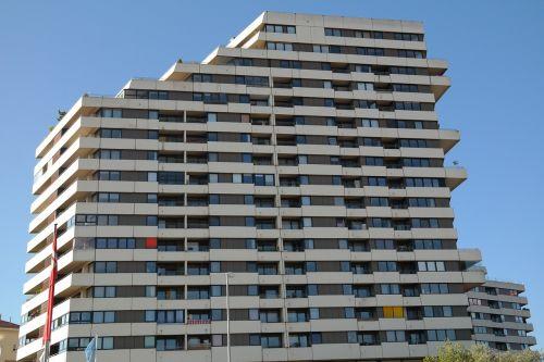 skyscraper apartments city