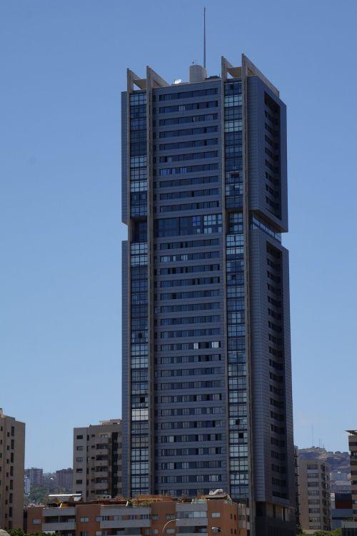 skyscraper glass window
